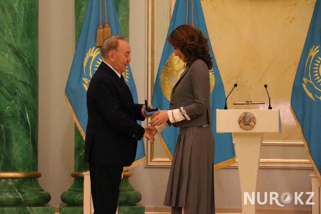 Алия Назарбаева рассказала о награде президента