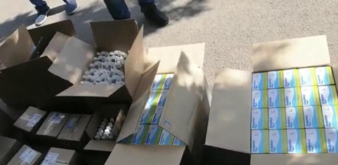 Лекарства на девять млн тенге пытались сбыть спекулянты в Нур-Султане