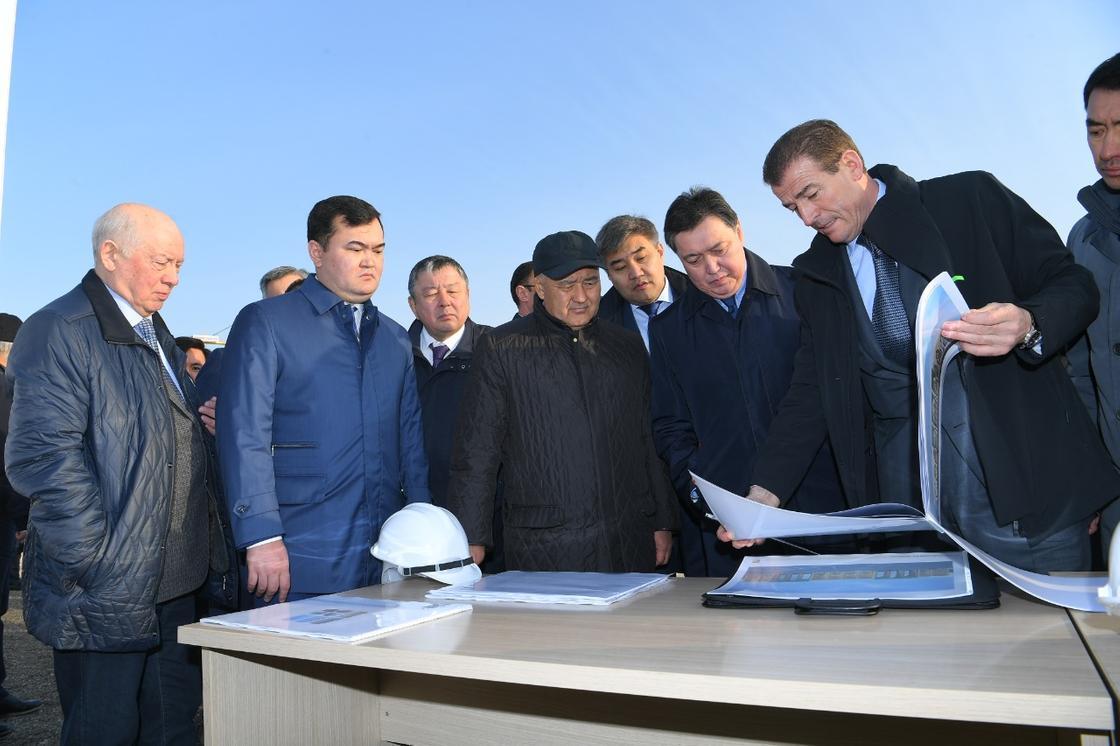 Мамин поручил усилить работы по застройке города Туркестан