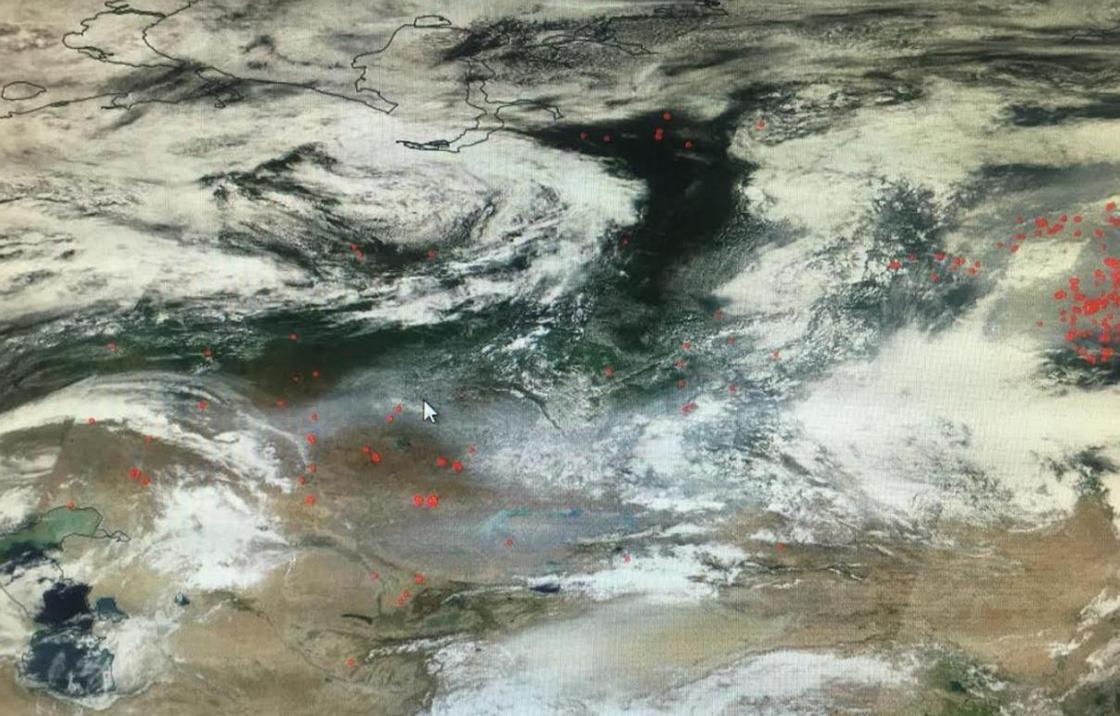 Катастрофа планетарного масштаба: дым от пожаров в Сибири дошел до Алматинской области