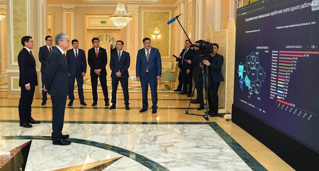 Интерактивную карту доступности интернета презентовали в Казахстане