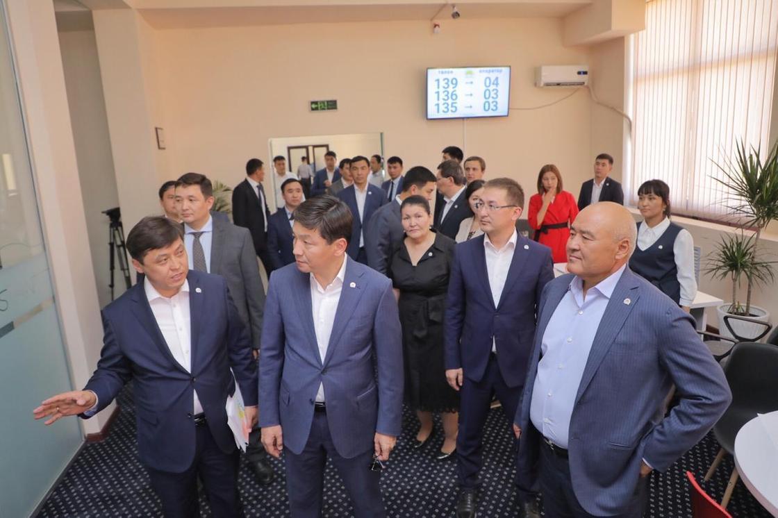 В Туркестане открылся общественная приемная в формате «Open Space»