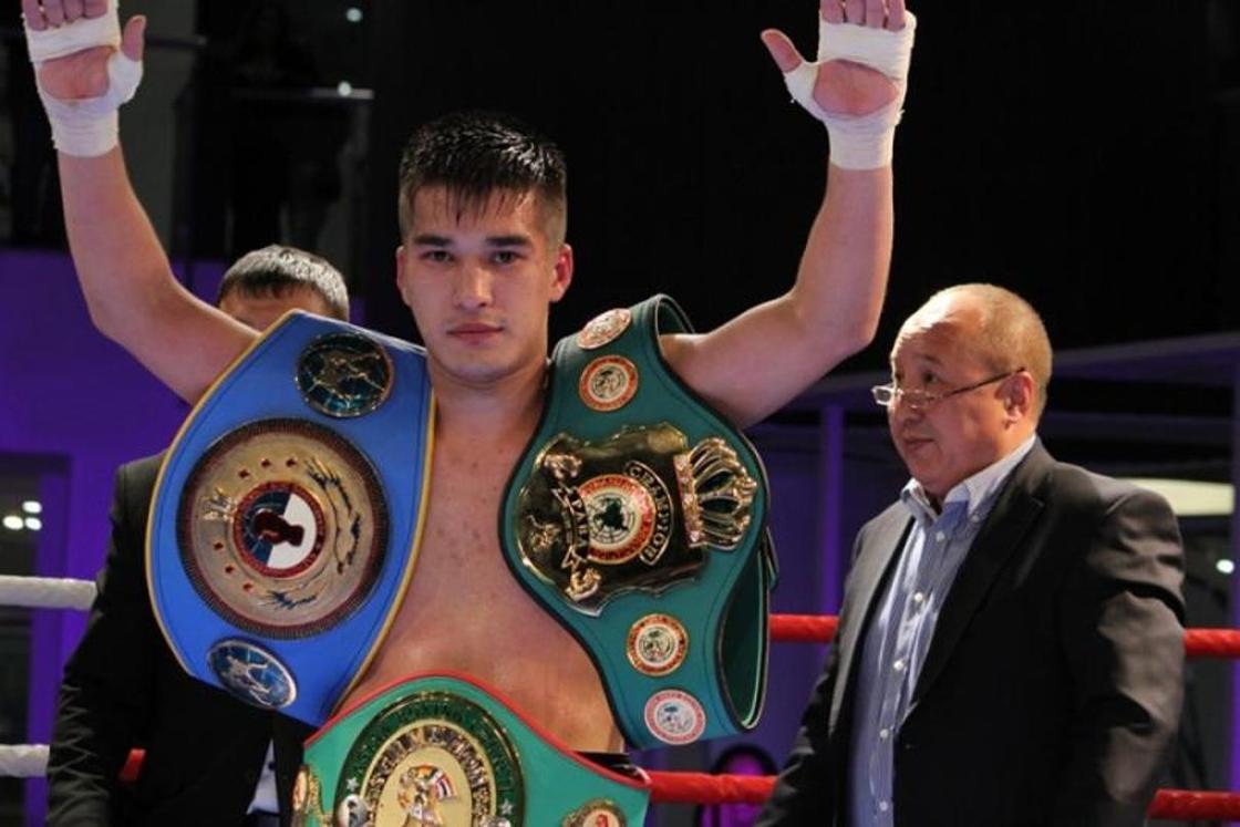 Роман Жайлауов. Фото: vk.com/kazproboxing