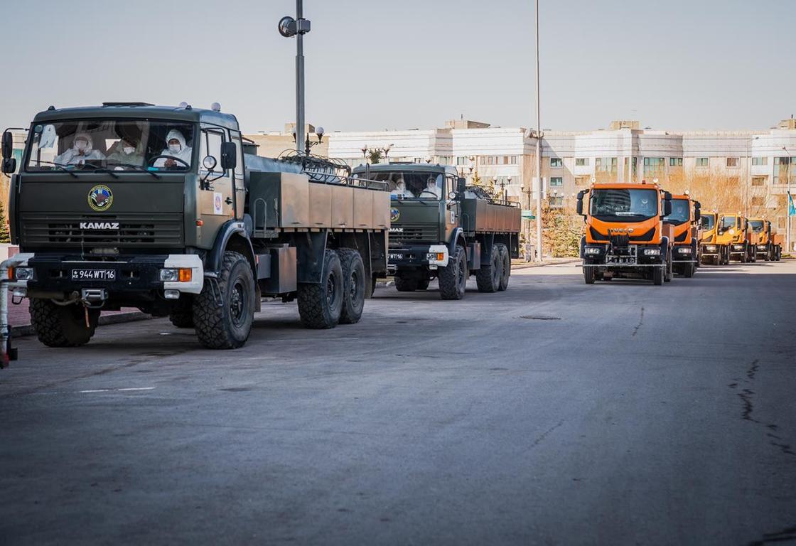 Свыше 2,8 тыс. многоквартирных жилых домов продезинфицировано в Нур-Султане
