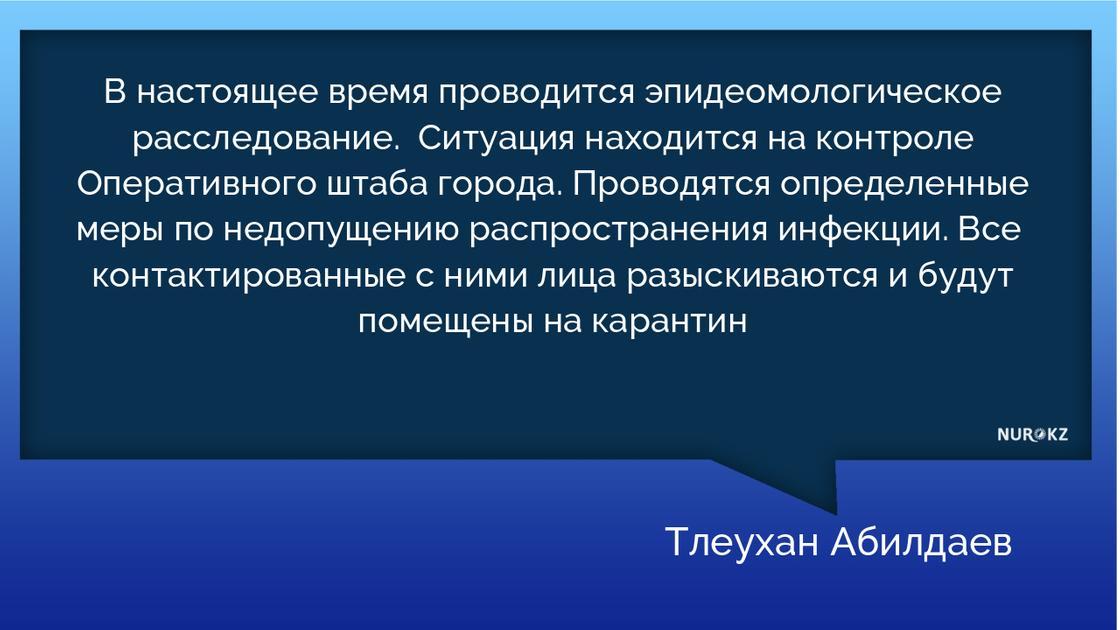 Еще 14 человек заразились коронавирусом в Алматы: среди них 12 медиков