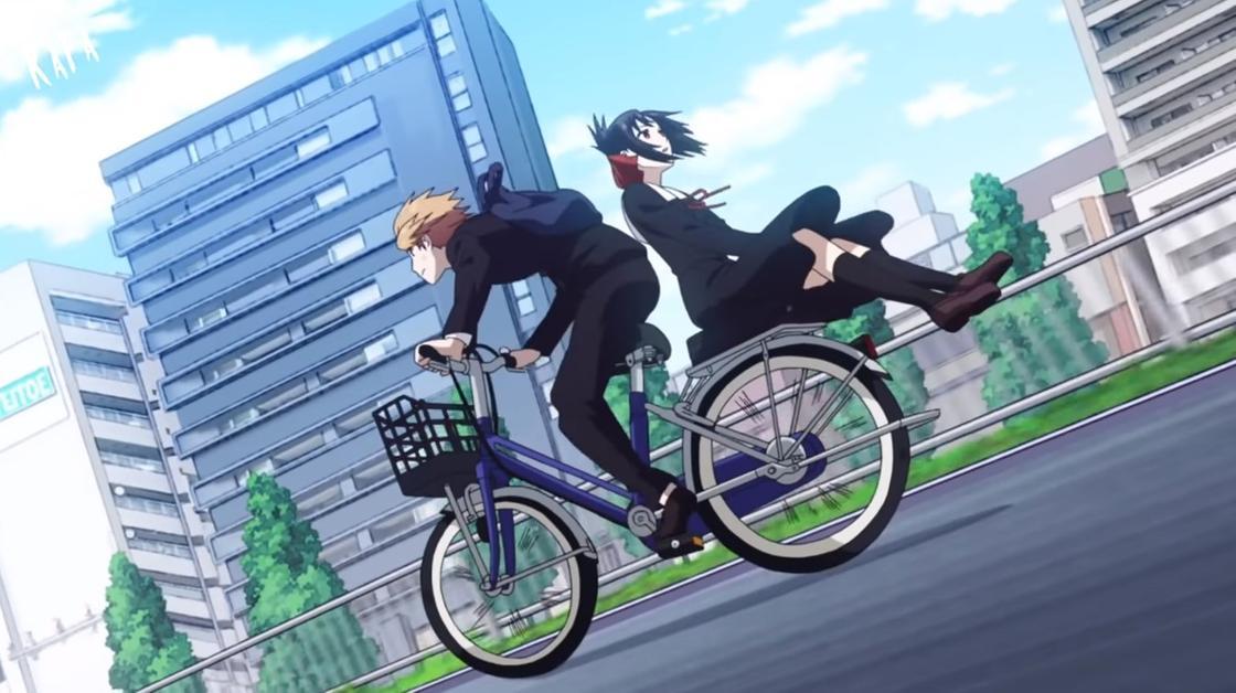 Кадр из аниме «Госпожа Кагуя: В любви как на войне»