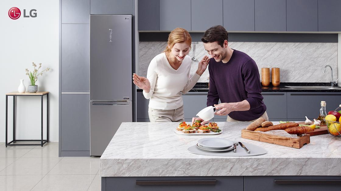 Непревзойденное удобство холодильников LG DoorCooling plus