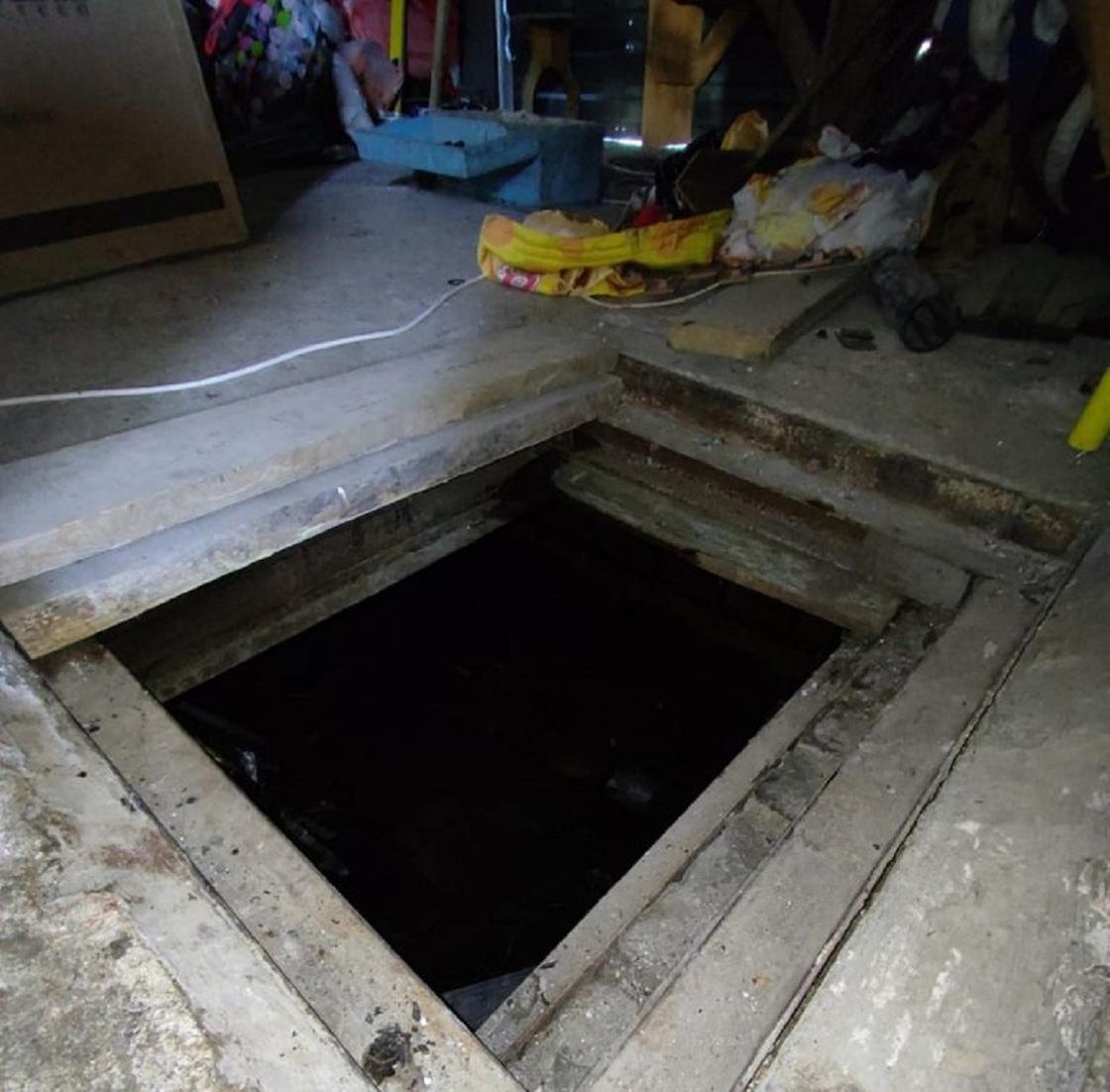 Погреб в жилом доме в Костанае