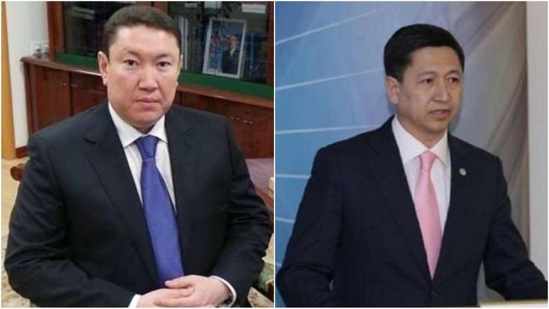 Фото: Еренай Дәржібаев (сол жақта) және Қуатжан Уәлиев (оң жақта). Фото: bnews.kz