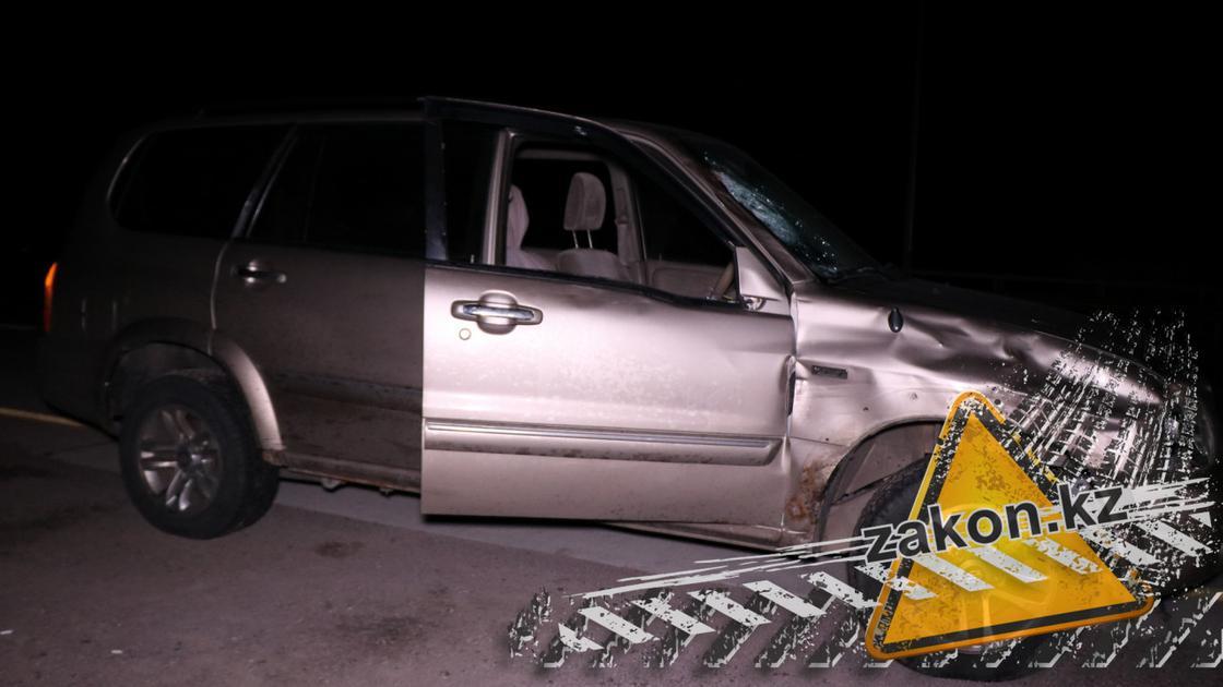 Женщину сбили насмерть возле Капшагая (фото)