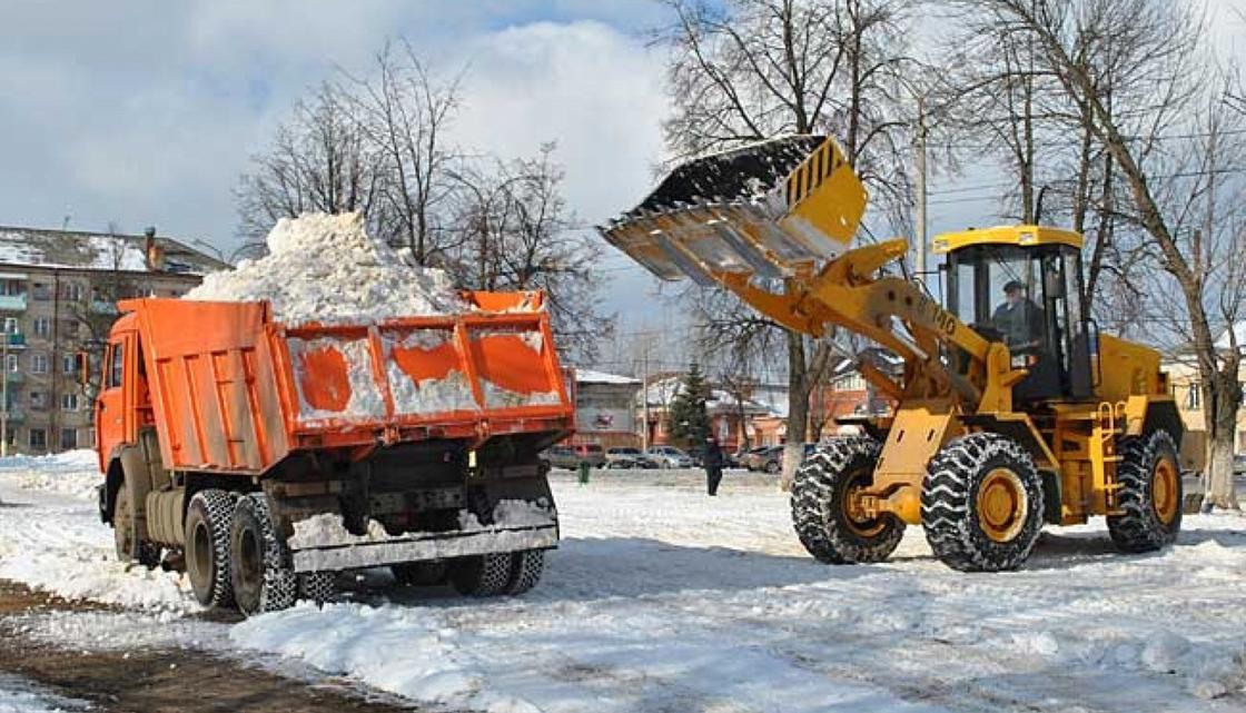 Коммунальщики дали другое определение слову «снег», чтобы не убирать