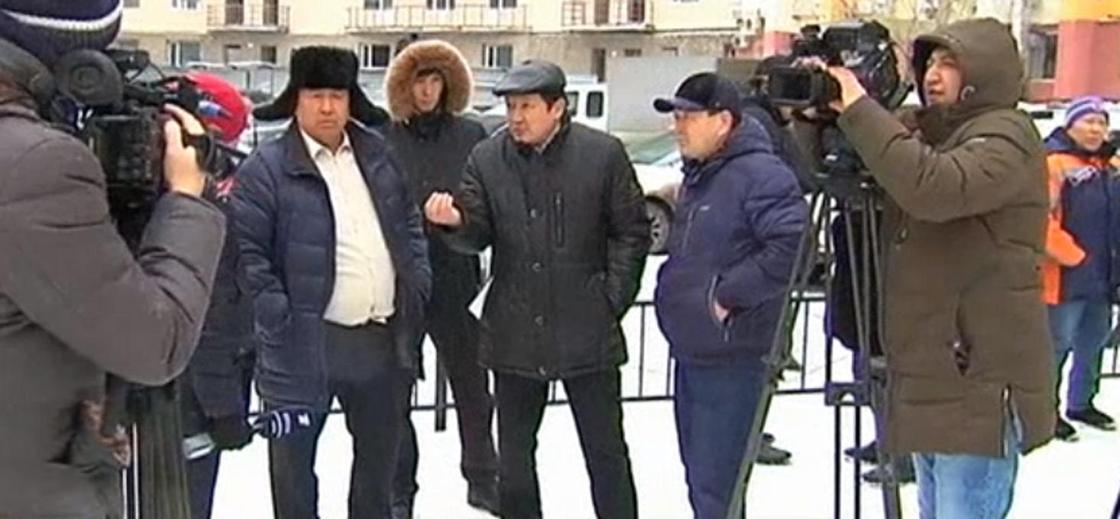 Ерлан Нұрғалиевтің достары Фото: Скриншот КТК