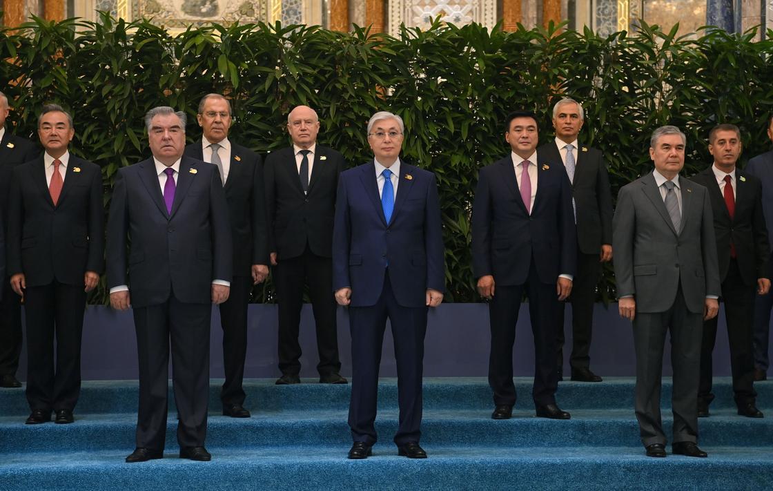 Главы государств-членов ШОС