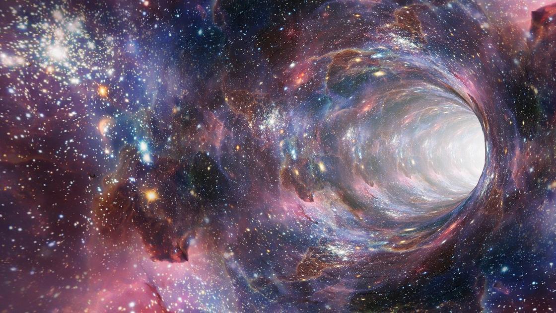 червоточина в космосе