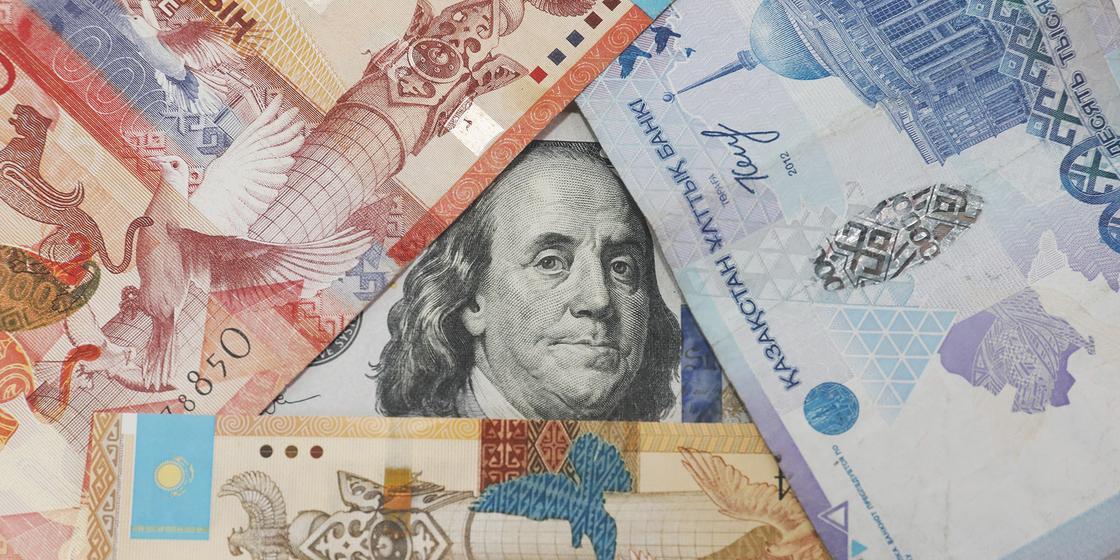 Тенге доллары