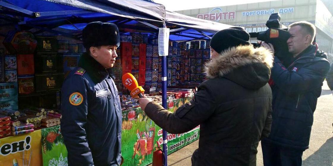 Алматинцам рассказали о безопасном использовании пиротехники