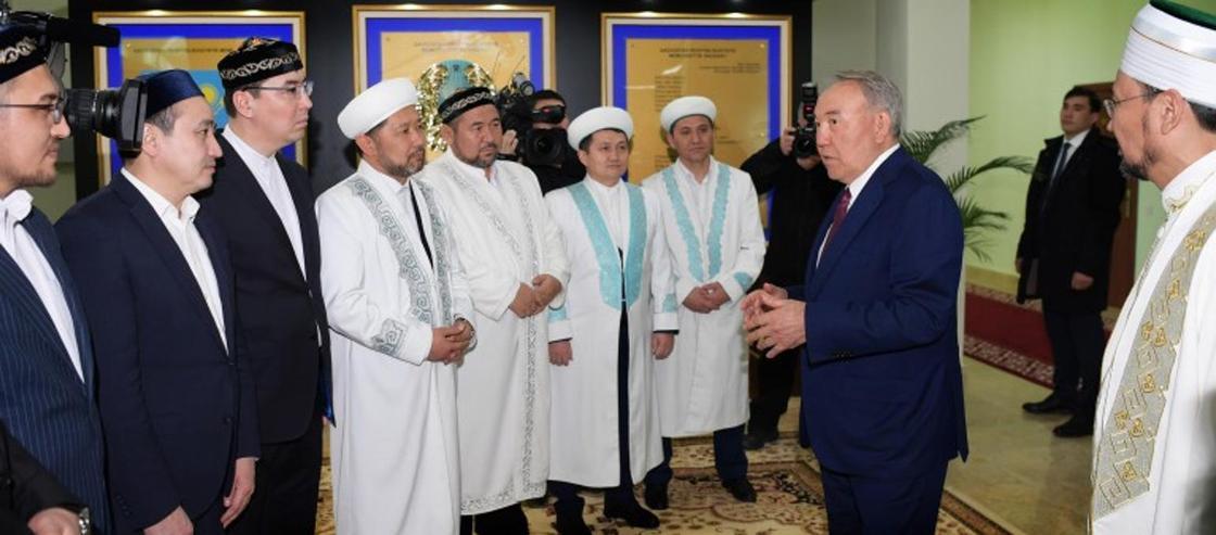 Назарбаев посетил новое здание ДУМК в Астане (фото)