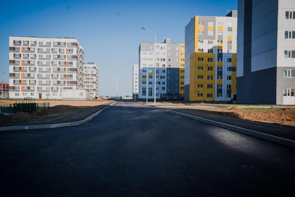 Строительство жилья в Нур-Султане