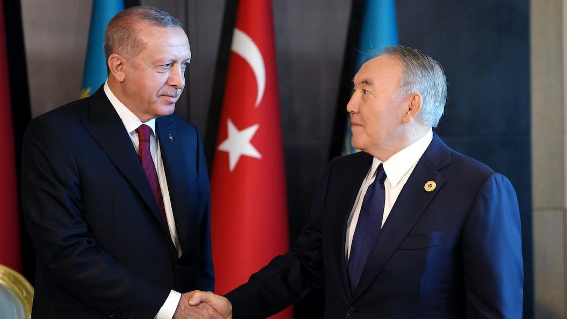 Эрдоған Нұрсұлтан Назарбаевқа жеделхат жолдады