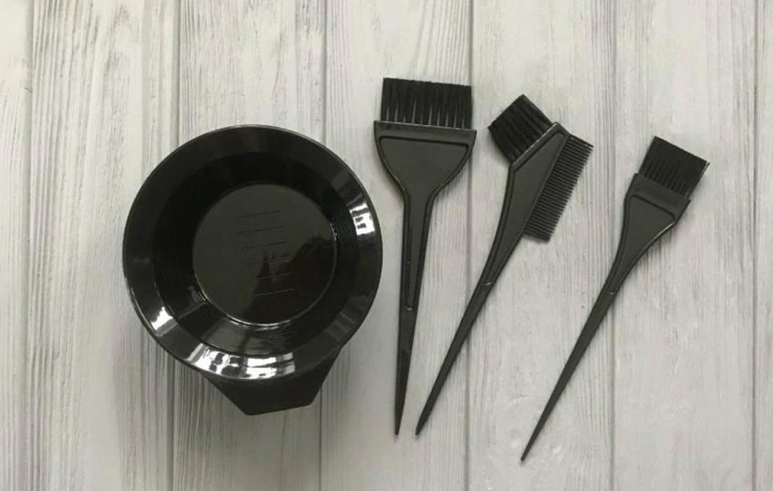 Омбре на темные волосы в домашних условиях