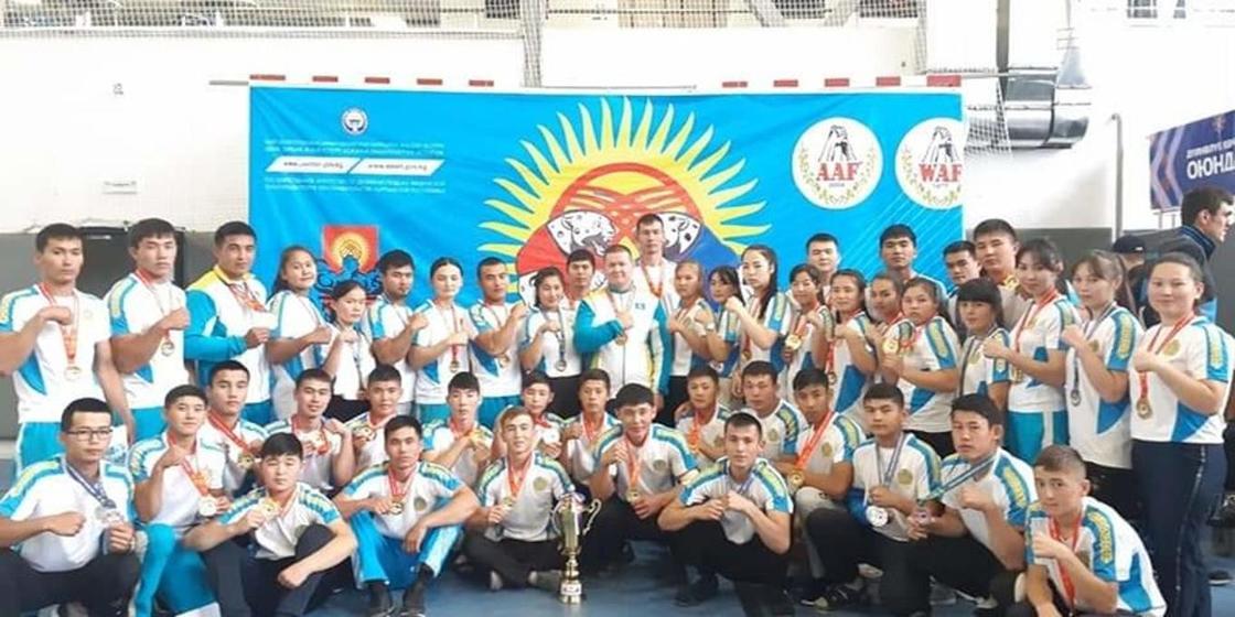 Азия чемпиондары. Фото: NUR.KZ