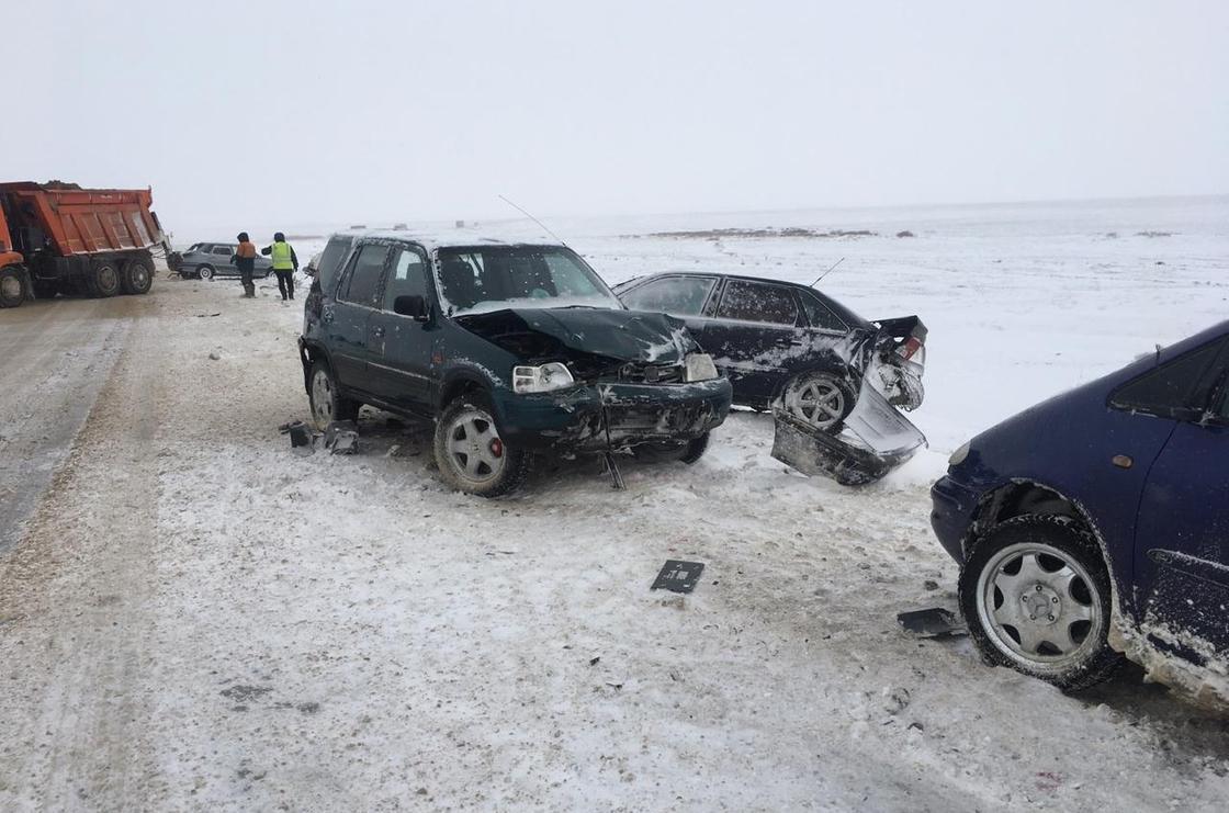 39 человек погибли из-за непогоды на дорогах Казахстана