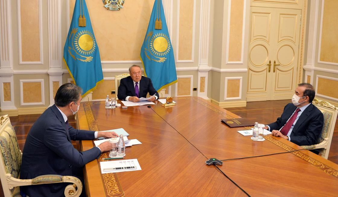 Заседание Совета Безопасности под председательством Нурсултана Назарбаева