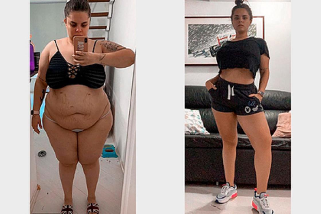 Девушка сбросила 61 килограмм без отказа от вредной пищи и дала совет худеющим