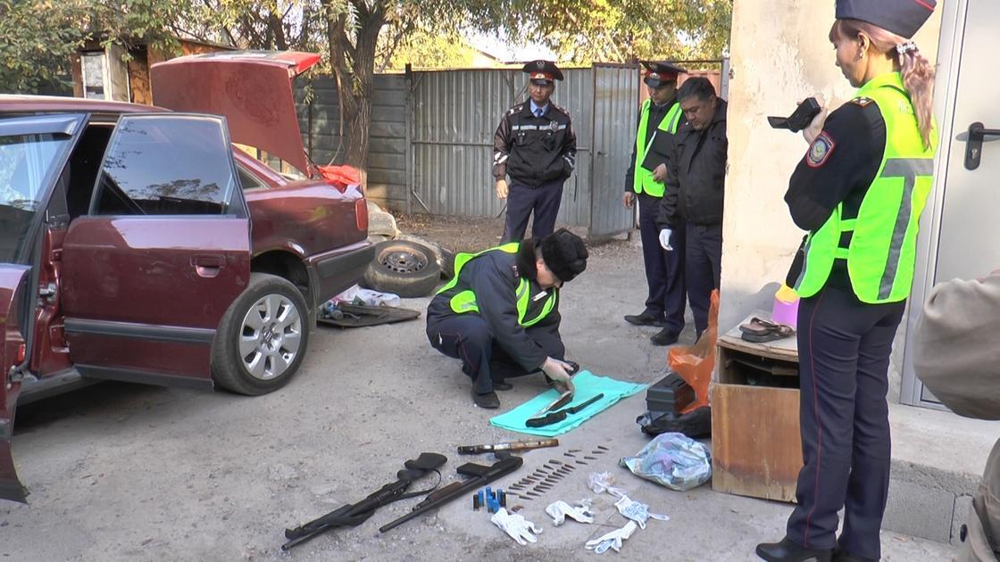 Фото: Алматы полиция департаментінің баспасөз қызметі