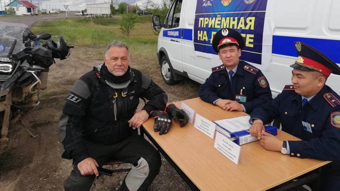 Путешественник из Европы заблудился в Павлодарской области