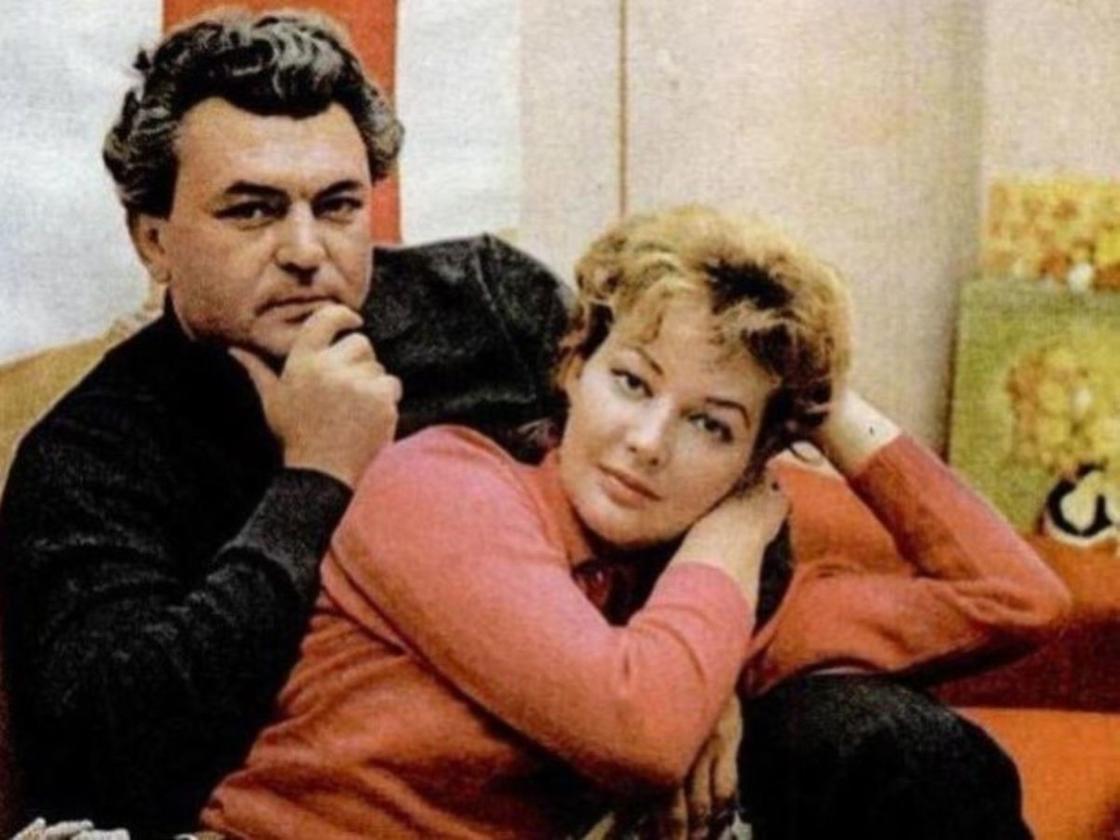Ирина Скобцева с мужем