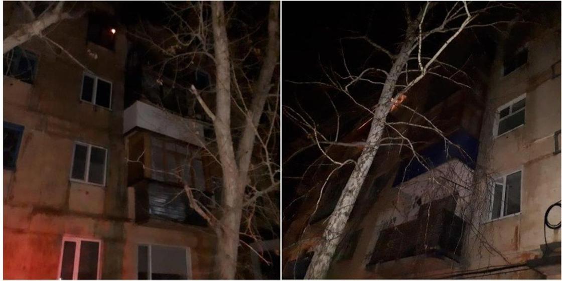 Крупный пожар, унесший жизнь и здоровье жильцов, произошел в Лисаковске