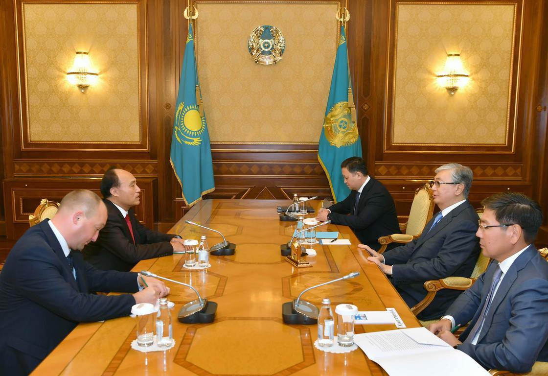Токаев принял генсекретаря Международного союза электросвязи