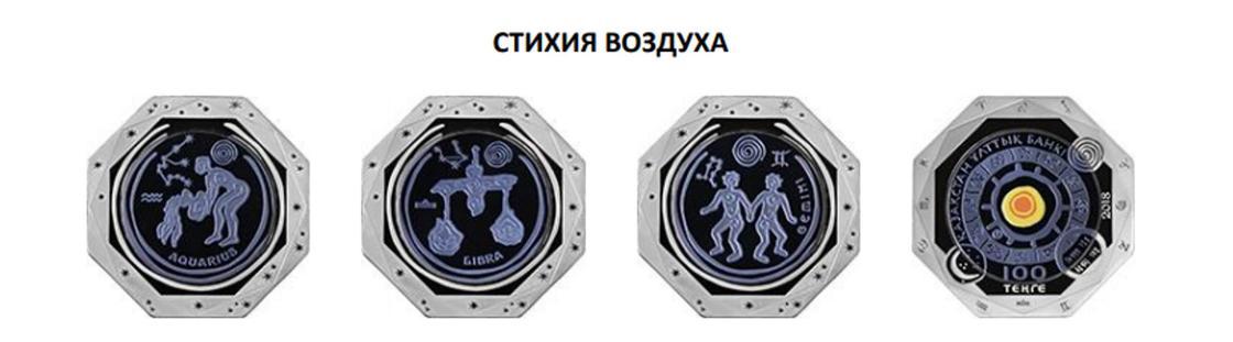 Нацбанк выпустит коллекционные монеты со знаками зодиака