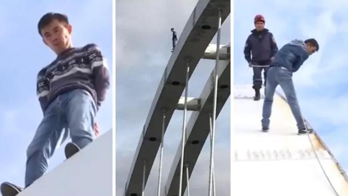 """""""Ты в ответе за свою семью"""": Кульгинов о мужчине, который хотел спрыгнуть с моста"""