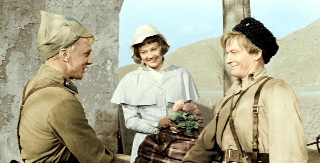 Кадр из фильма «Офицеры» (1971)