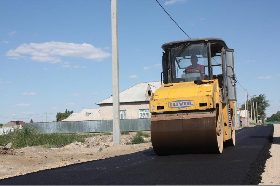 Қызылорда облысында жол құрылысы қарқынды