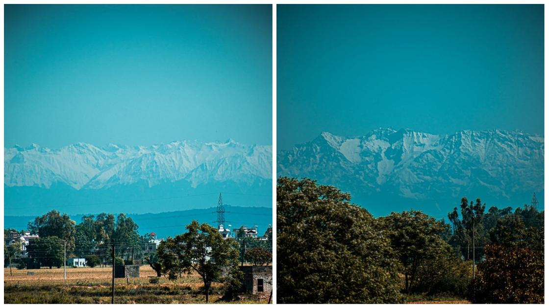 Вершины Гималаев видны впервые за последние 30 лет из-за снижения загрязнений