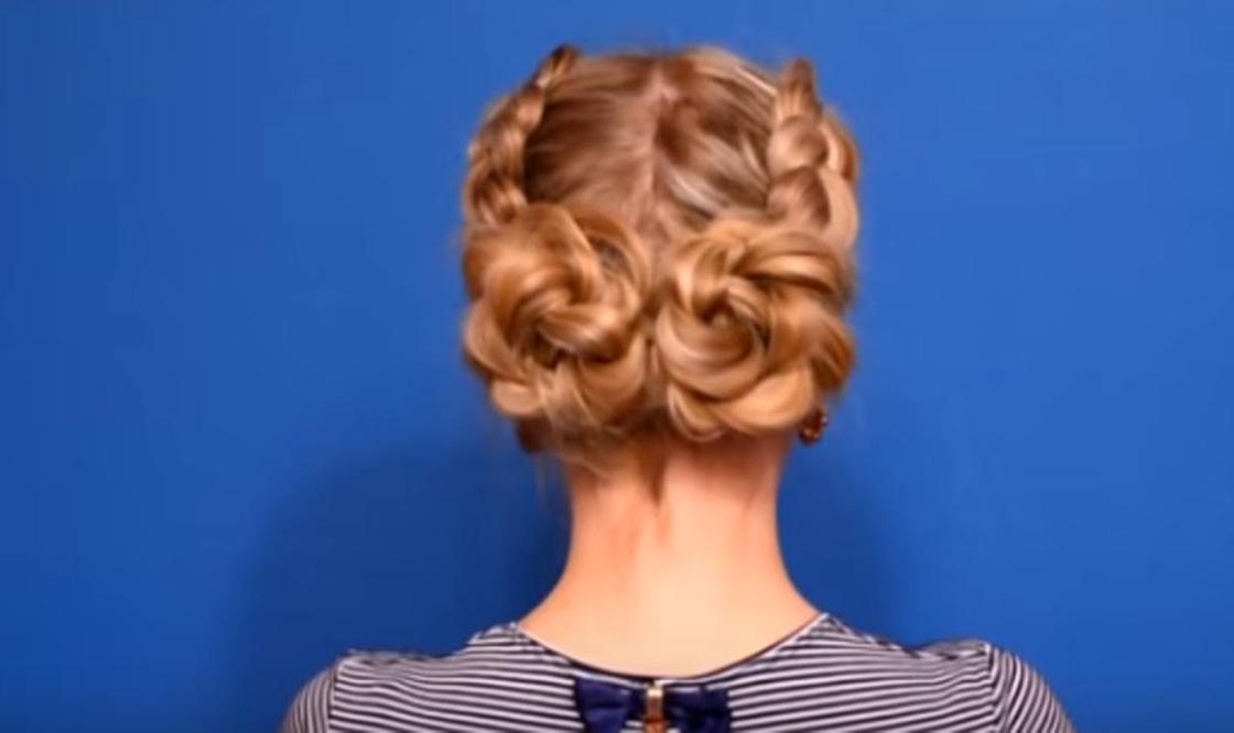 Красивые прически на длинные волосы в школу