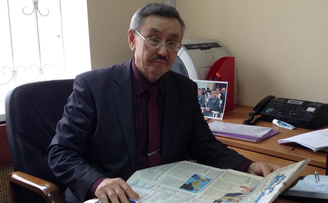 Отставкадағы генерал-майор М.С. Нағұманов