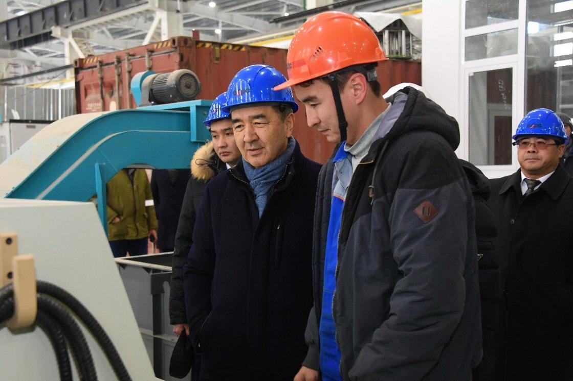 Новые заводы запускают в Алматы