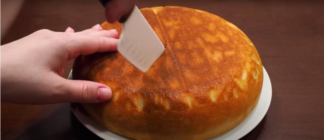 Пирог из творога и кефира