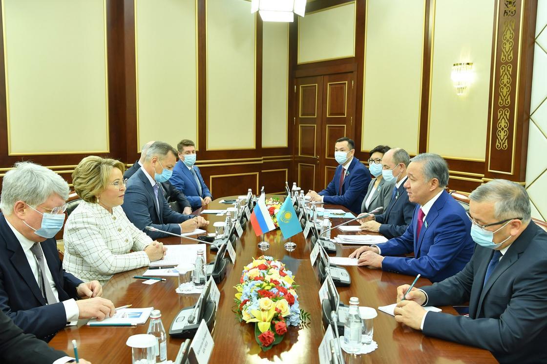 Встреча Нигматулина с Матвиенко
