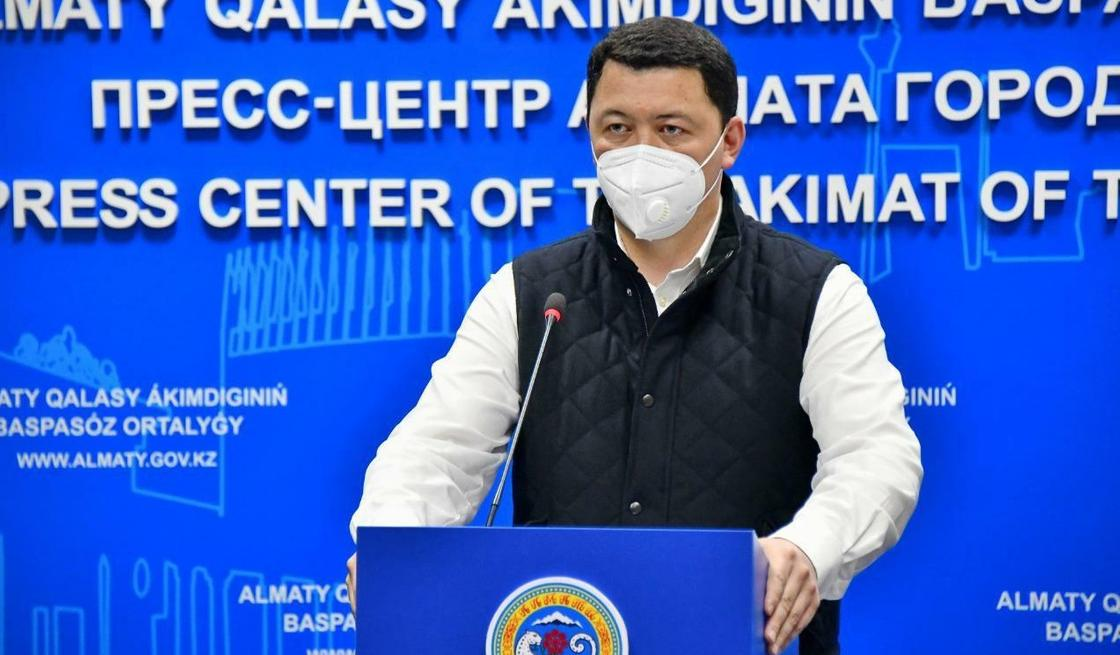 Қамалжан Надыров. Фото: Алматы әкімдігі
