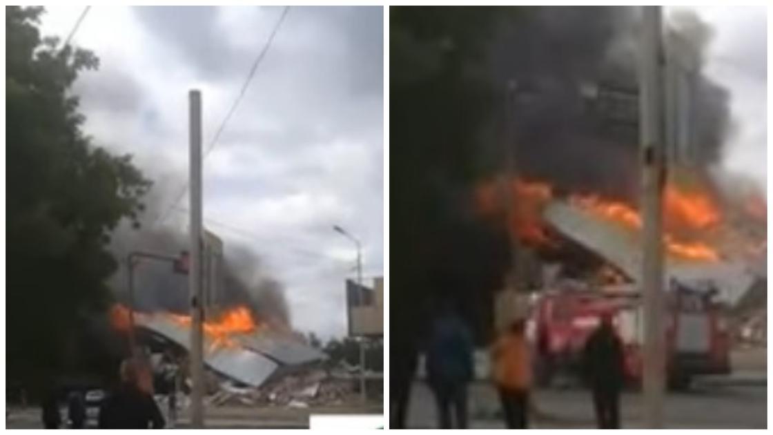 Взрыв газа прогремел в Костанае