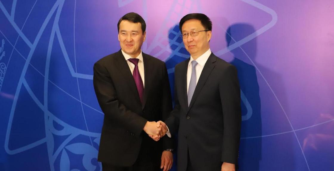 Смайылов Қытаймен өнеркәсіптік кооперацияны дамытуға шақырды