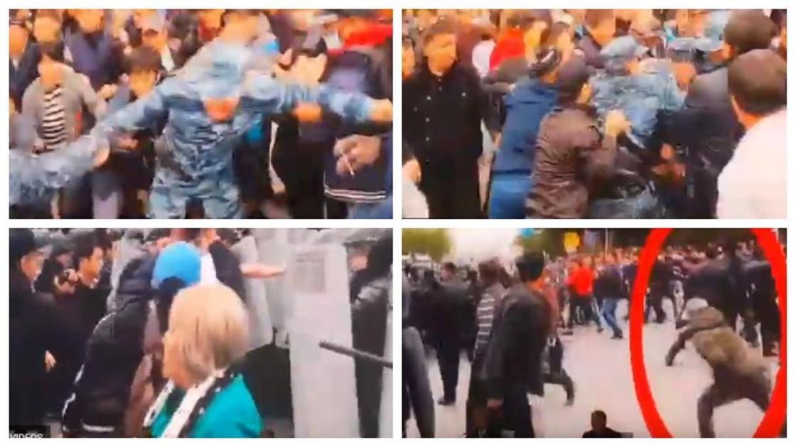 МВД и Генпрокуратура показали провокаторов митингов на видео