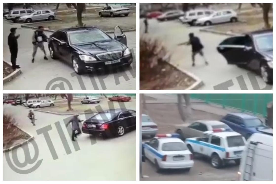 """""""Отстрелял"""": вооруженного мужчину разыскивают в Павлодаре (видео)"""