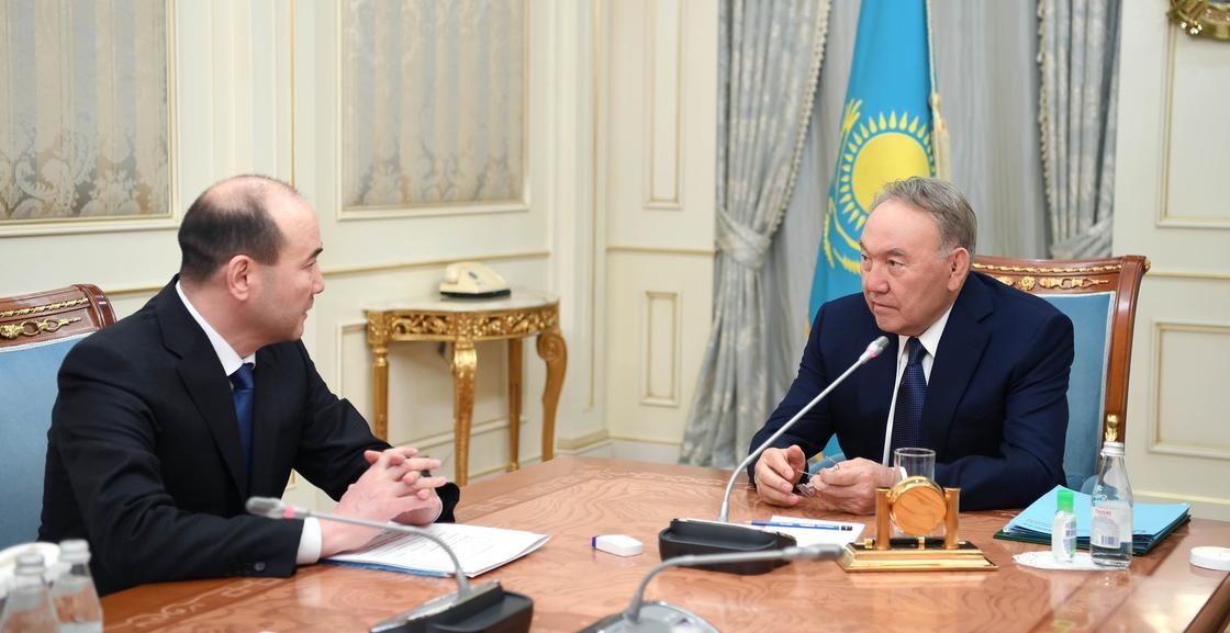 Назарбаев Бас прокурор Ғизат Нұрдәулетовты қабылдады