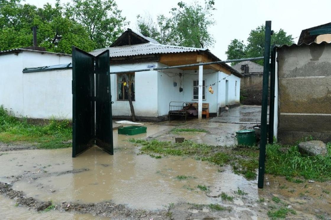 Өзендердің тасуы: Түркістан облысының Төле би ауданында
